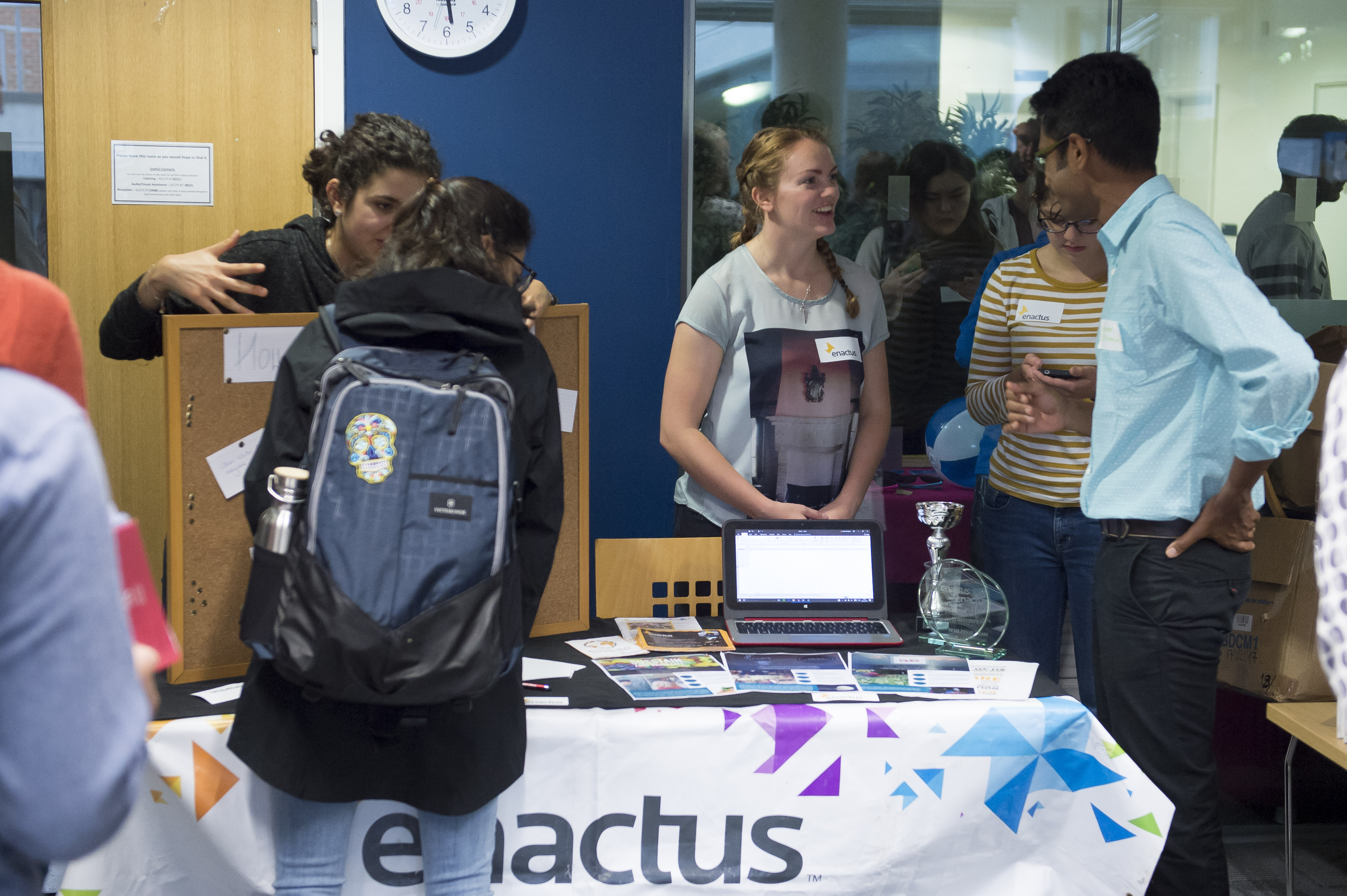 Enactus Society at the Business School Welcome Evening 2017