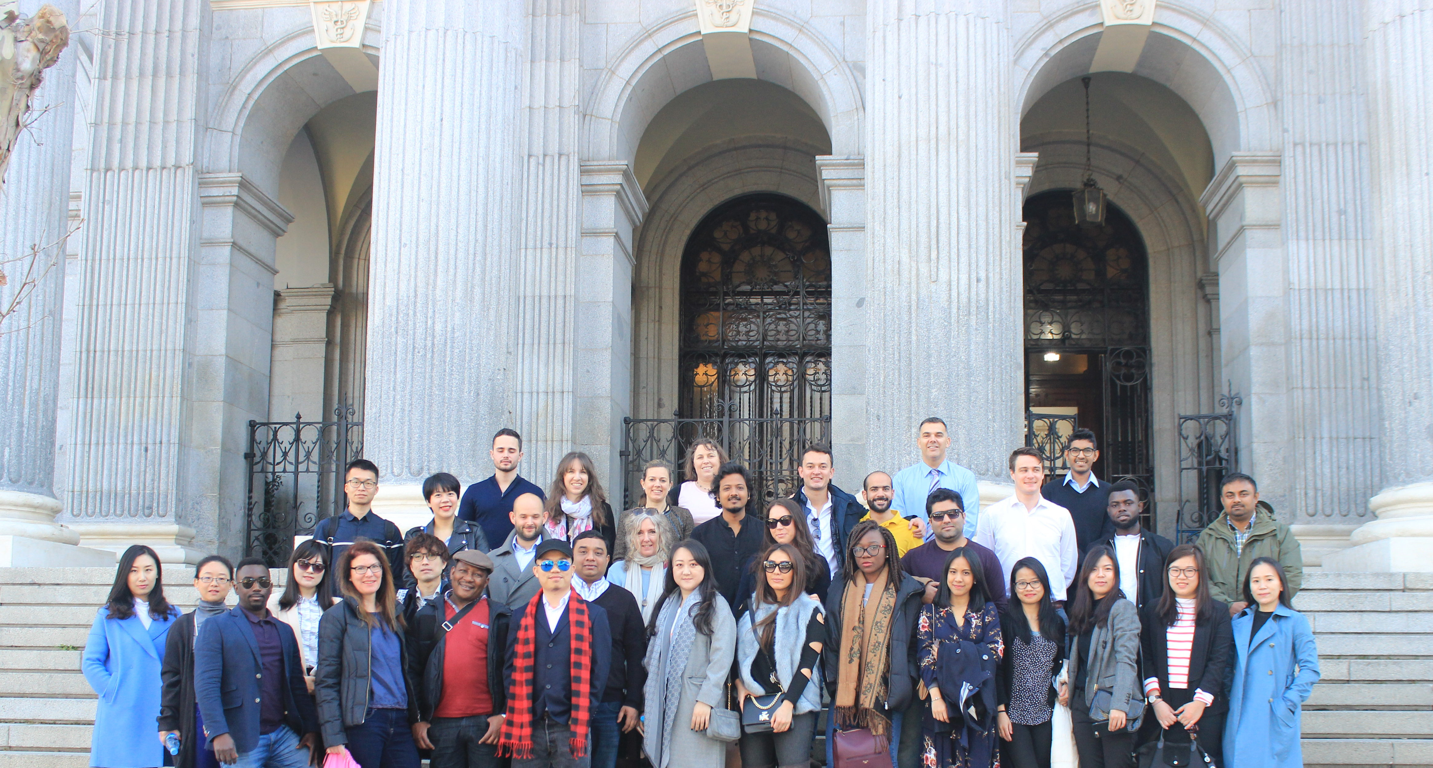Sussex MBA students discover Madrid as part of their study trip