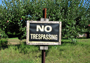No_trespassing_by_Djuradj_Vujcic