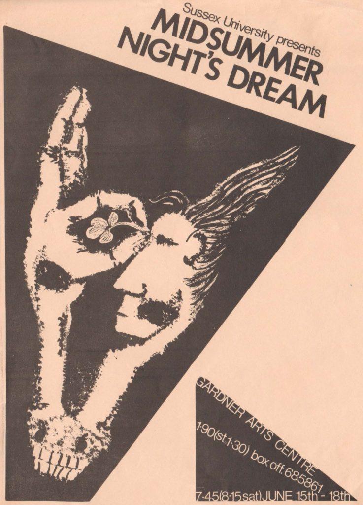 SUDS Poster of Midsummer Night's Dream