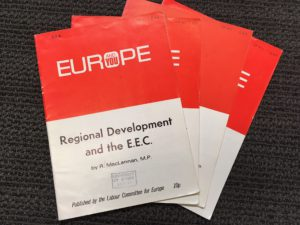 Europe Regional Development and the EEC