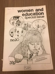 An example from the Gender Studies and Feminism category. This is a journal called Women and Education