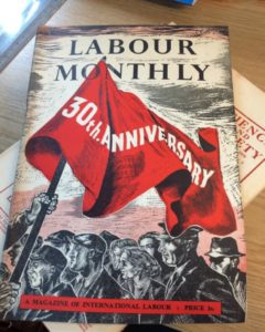 This is an example from the Political movements and parties category. It is an example of the Magazine of International Labour
