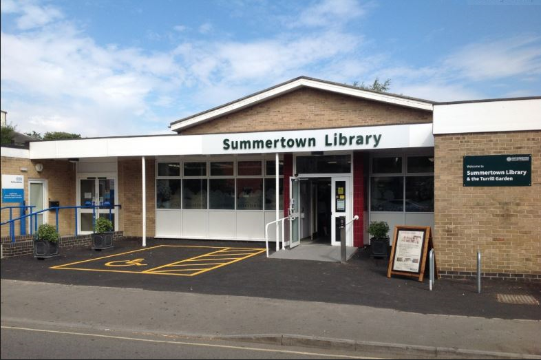 a photo of Summertown Library in Oxford