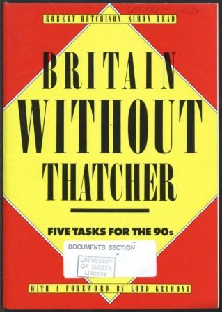 Britain without Thatcher_page1_image1