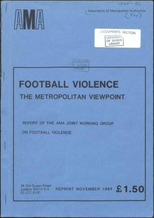 Football Violence - the Metropolitan Viewpoint_page1_image1