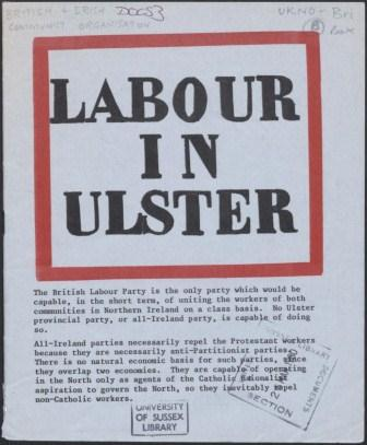 Labour in Ulster_page1_image1