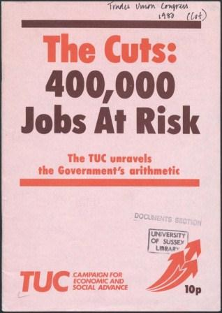 The Cuts - 400,000 jobs at risk_page1_image1
