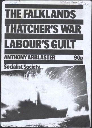 The Falklands - Thatcher's War, Labour's Guilt_page1_image1