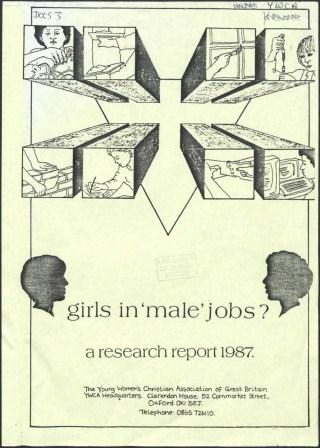 girls in male jobs - a research report 1987_page1_image1