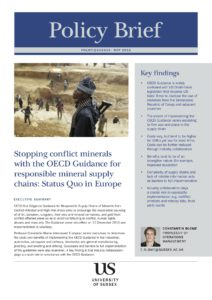 policy brief supply chains of minerals 4pg