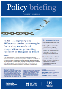 Recognising our differences can be our strength - policy briefing PDF