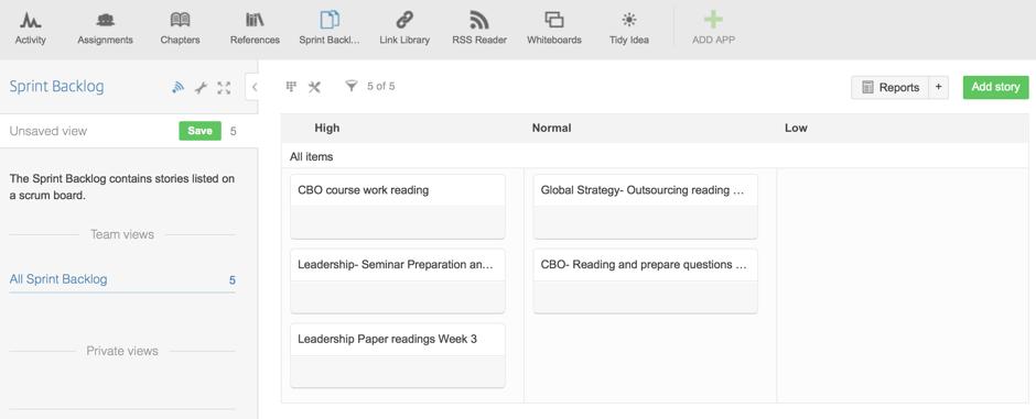Readings and Seminar Work