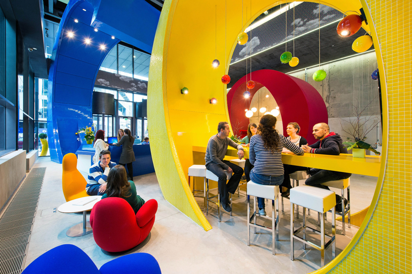 Google Offices Reception