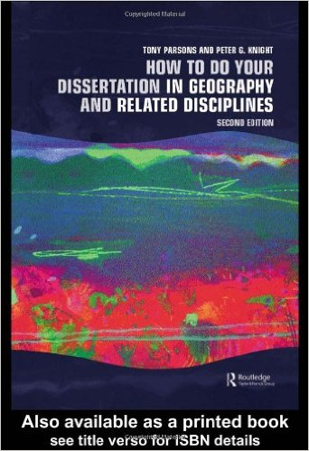 geography dissertation