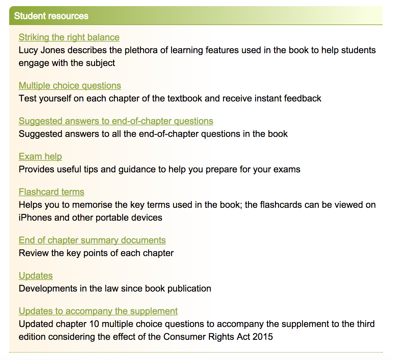 Textbooks | My Ideal Resource | SAGE Students' Blog