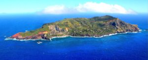 Pitcairn and Wrangel Islands. Pitcairn is, you will note, small.