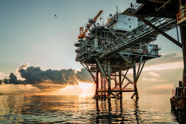 An offshore rig