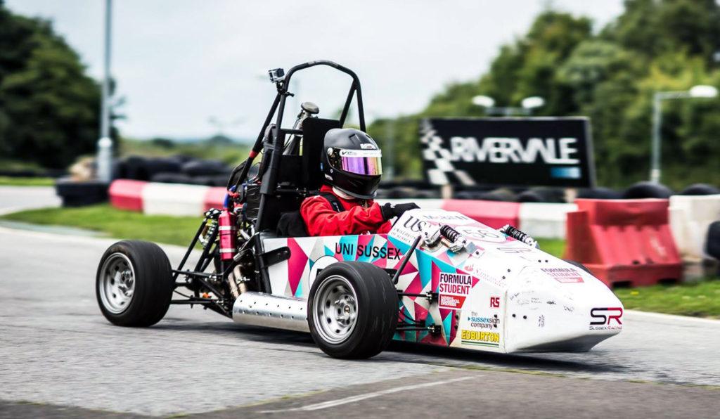 University of Sussex Sussex Racing Formula Student 2017 Car SR17