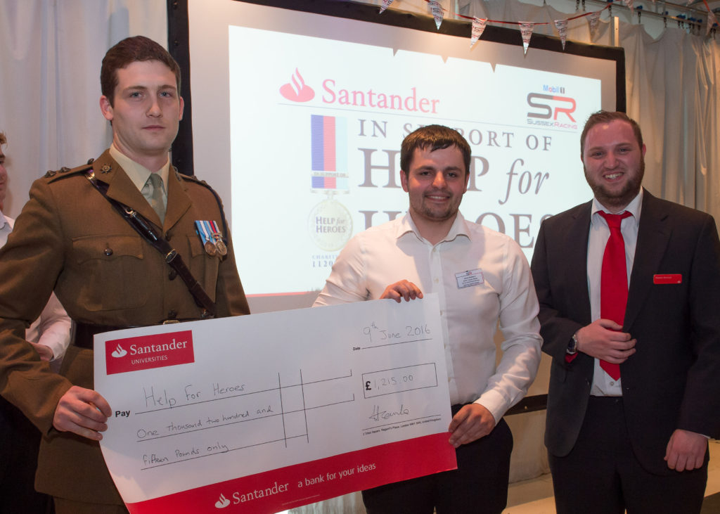 University of Sussex Racing Help for Heroes