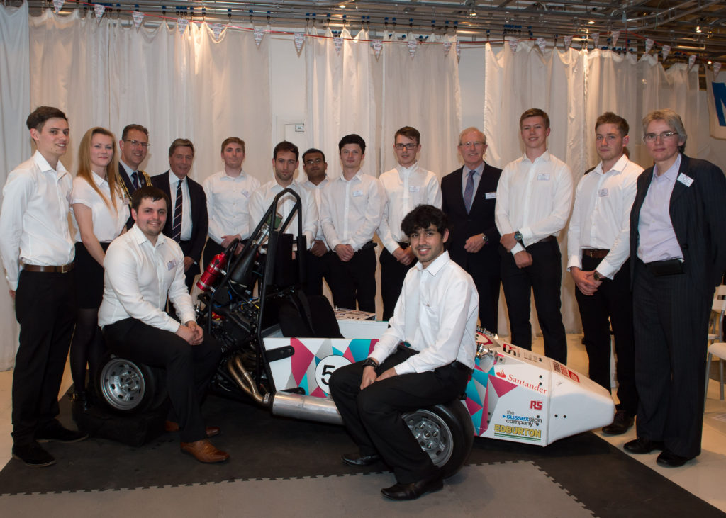 Formula Student University of Sussex Launch