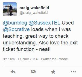 Craig Tweet