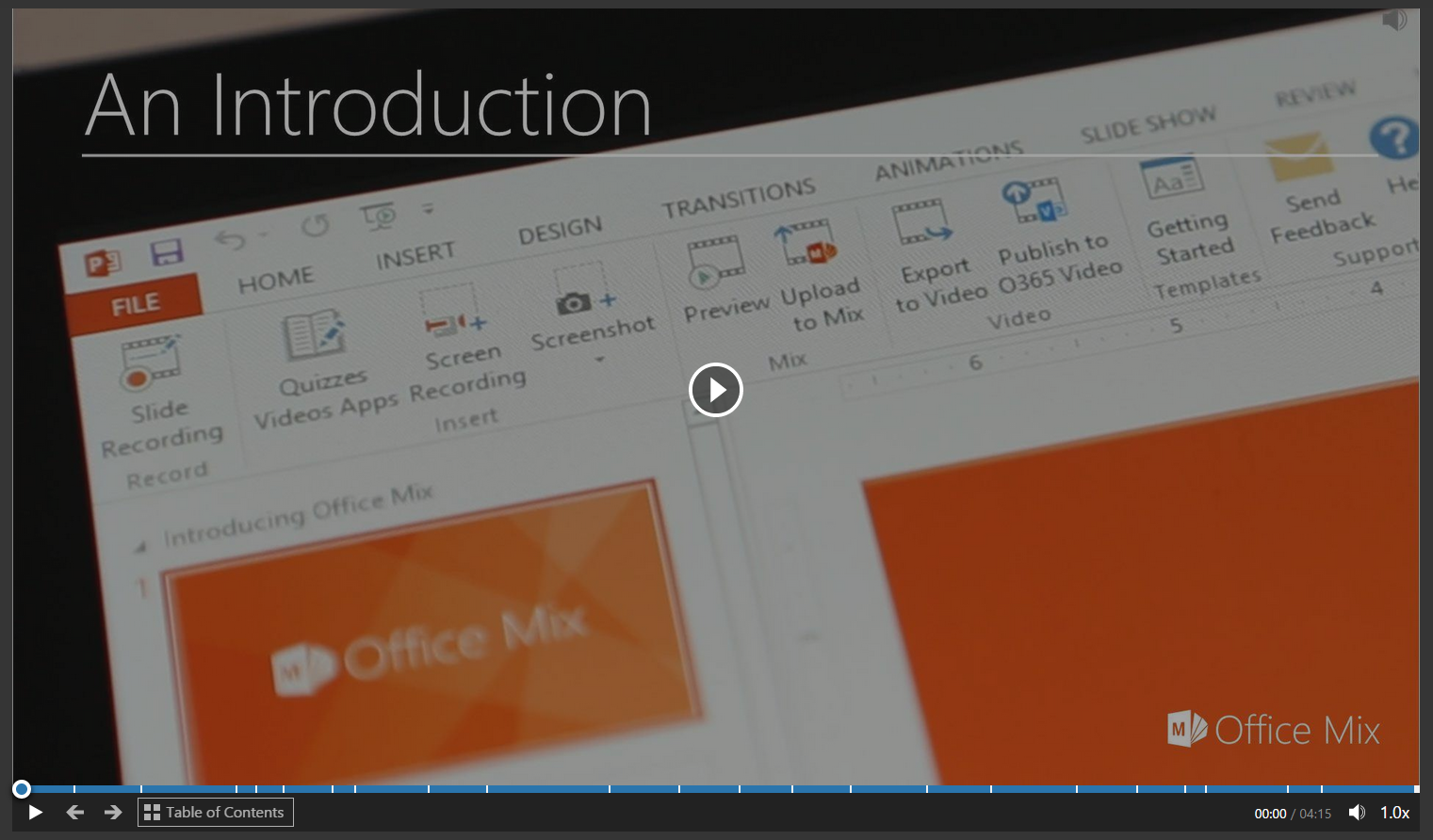 Enhance your PowerPoint presentations with Office Mix - Technology ...