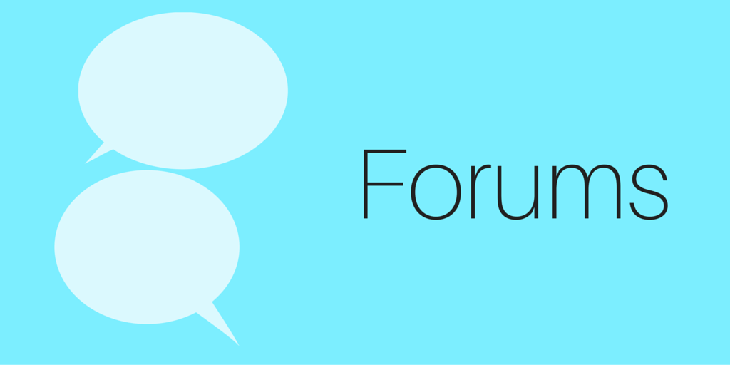 Forums for learning