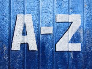An image of an A - Z (apps)