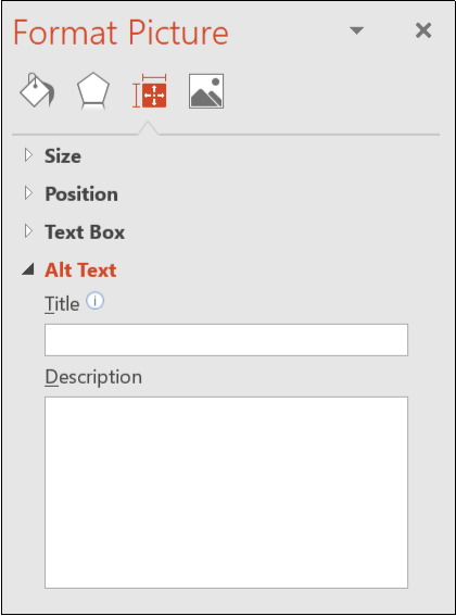 add Alt Text in PowerPoint