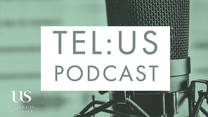 TEL:US Podcast logo.